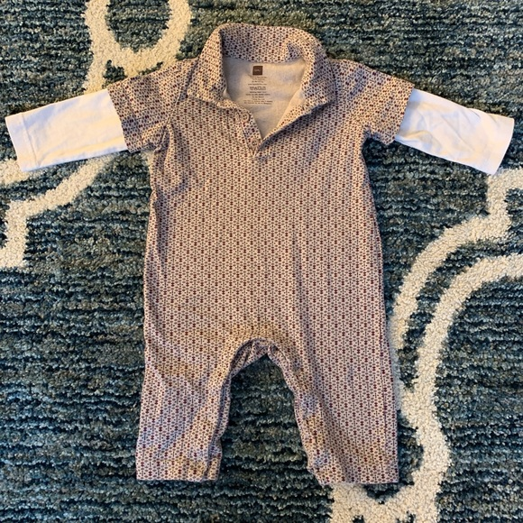 Tea Collection Other - Tea Collection 3-6 months Polo Romper